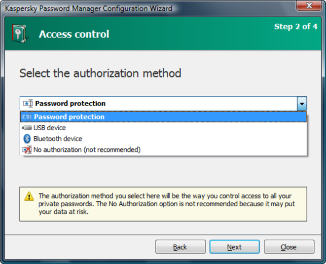 Screenshot 5 of Kaspersky Password Manager