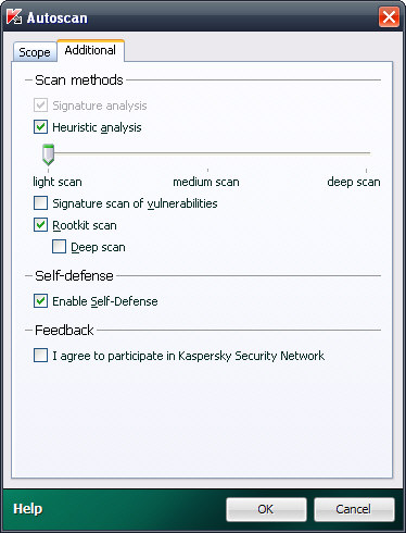 Screenshot 5 of Kaspersky Virus Removal Tool