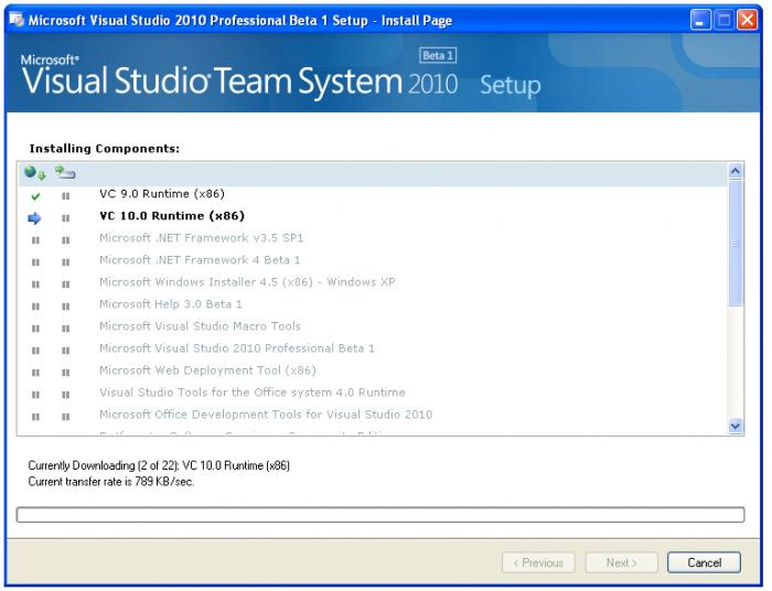 microsoft visual studio 2008 for windows 7 64 bit free download