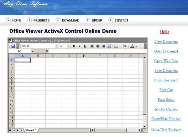 Download Office Viewer ActiveX Control free — NetworkIce com