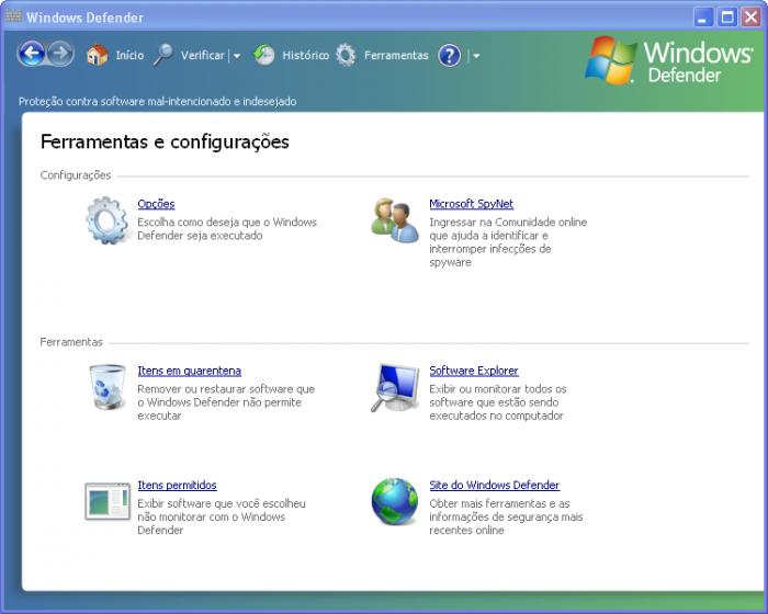Screenshot 1 of Windows Defender