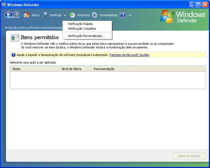 Screenshot 5 of Windows Defender