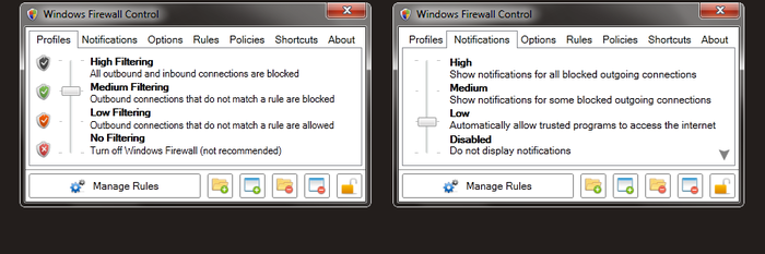 Screenshot 4 of Windows Firewall Control
