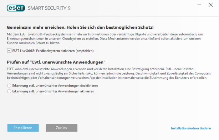 Screenshot 2 of ESET Smart Security
